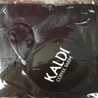 KALDI - KALDI オリジナルエコバッグ 赤黒セット