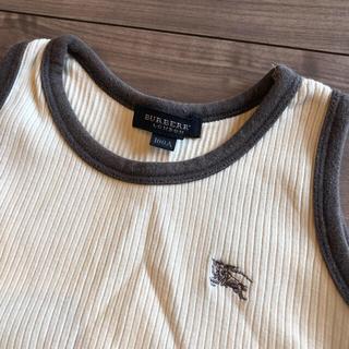 バーバリー(BURBERRY)のBURBERRY キッズ タンクトップ 100cm(Tシャツ/カットソー)