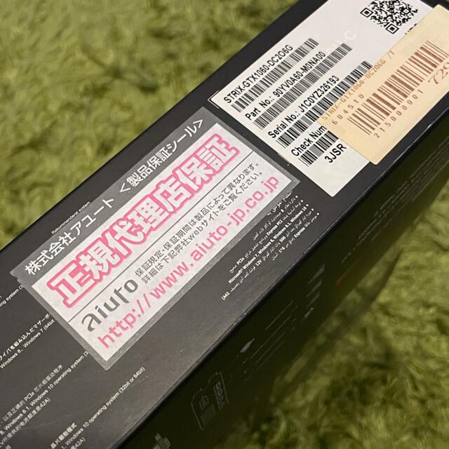 ASUS(エイスース)のASUS STRIX-GTX1060-DC2O6G スマホ/家電/カメラのPC/タブレット(PCパーツ)の商品写真