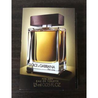 ドルチェアンドガッバーナ(DOLCE&GABBANA)のドルチェ&ガッパーナ ザ・ワン オードパルファム 1.5ml(香水(男性用))