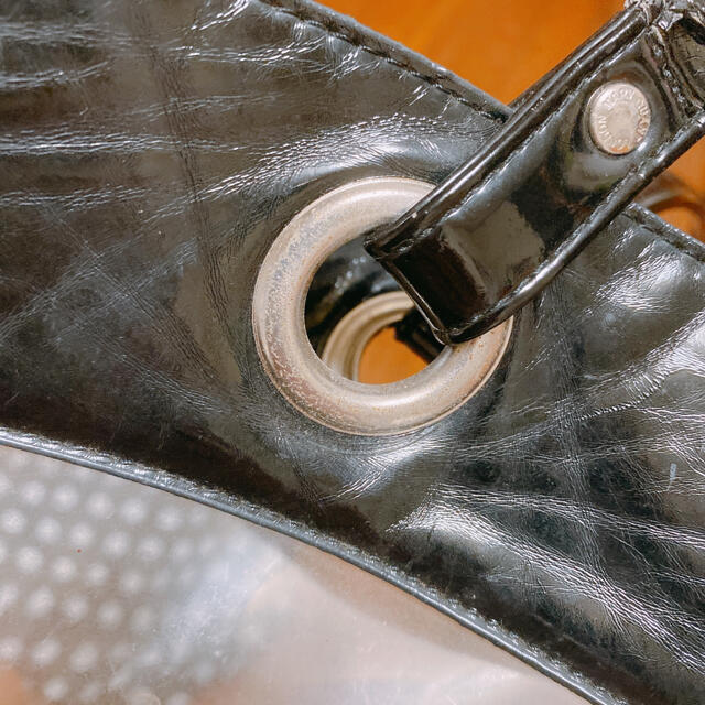 MARY QUANT(マリークワント)のマリクワ クリアトートバッグ 巾着つき レディースのバッグ(トートバッグ)の商品写真