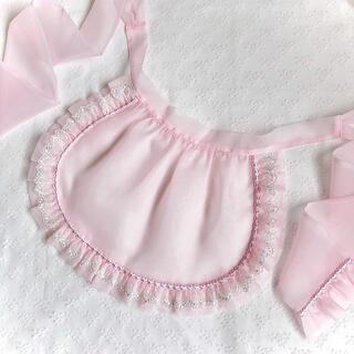 Angelic Pretty - 即納 レースオーガンジーミニエプロン ピンク