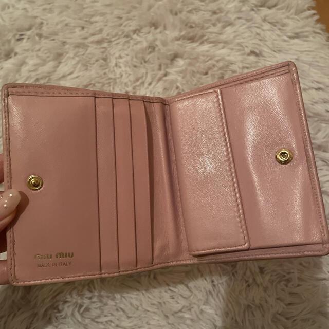 miumiu(ミュウミュウ)のmiumiu 財布 レディースのファッション小物(財布)の商品写真