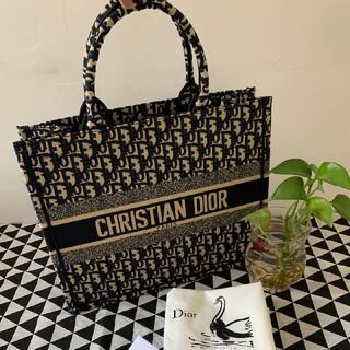 Christian Dior - Dior ブックトート スモール ネイビー