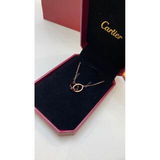 Cartier - 超美品!!カルティエ ベビーラブ ピンクゴールド ネックレス