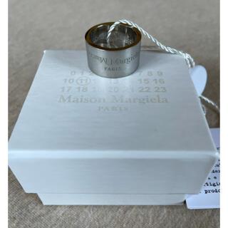 マルタンマルジェラ(Maison Martin Margiela)のM新品 メゾン マルジェラ リバースロゴ リング ブラッシュ 指輪 メンズ(リング(指輪))