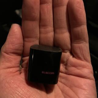 エレコム(ELECOM)のエレコム ワイヤレススピーカー ブラック(スピーカー)