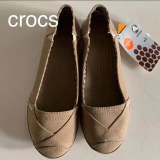 クロックス(crocs)の☆新品☆ タグ付 crocs クロックス キャンパス スリッポン W 5  21(スニーカー)