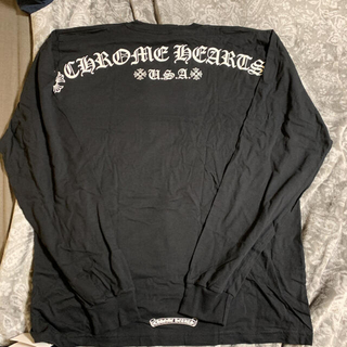 クロムハーツ(Chrome Hearts)の新品 レア クロムハーツ ロングスリーブ Tシャツ サイズXL(Tシャツ/カットソー(七分/長袖))