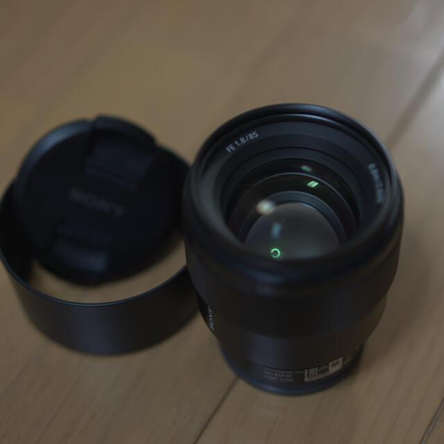 SONY(ソニー)のSONY Eマウントレンズ フルサイズ用 単焦点85mm F1.8 スマホ/家電/カメラのカメラ(レンズ(単焦点))の商品写真