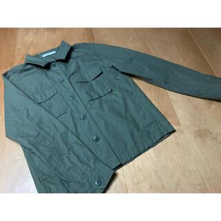 ユニクロ(UNIQLO)の【UNIQLO】ミリタリー シャツ ジャケット(ミリタリージャケット)