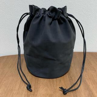 巾着バッグ かごバッグ かばん 鞄 着物鞄 和装 黒 レディース メンズ