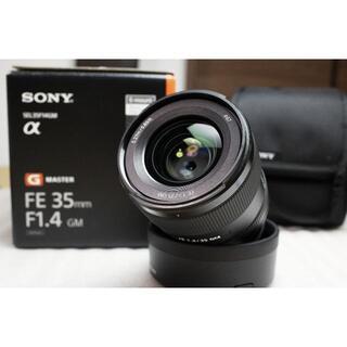 SONY - 保証有 美品 防湿庫保管 FE 35mm F1.4 GM SEL35F14GM