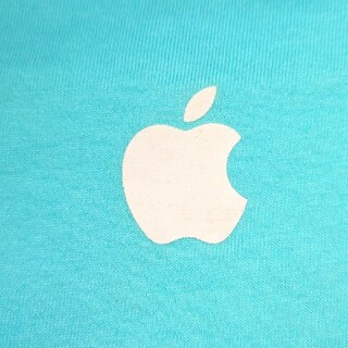 Apple - アップルTシャツ Msizeブルー 非売品 スタッフ専用レア非売品
