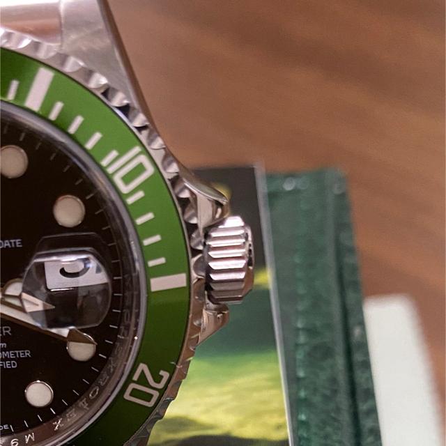 ROLEX(ロレックス)の【美品】16610LV グリーンサブ シリアルM番 メンズの時計(腕時計(アナログ))の商品写真
