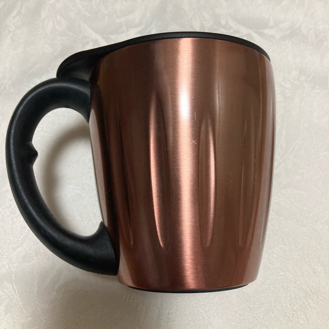 Starbucks Coffee(スターバックスコーヒー)のスタバ ステンレス マグカップ 蓋つき インテリア/住まい/日用品のキッチン/食器(グラス/カップ)の商品写真
