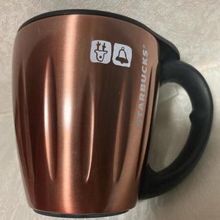 Starbucks Coffee - スタバ ステンレス マグカップ 蓋つき