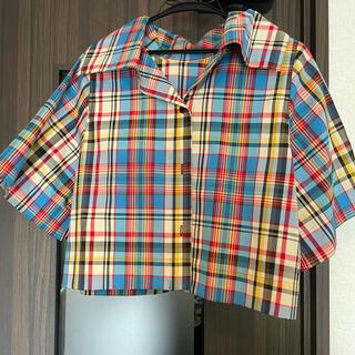 トゥモローランド(TOMORROWLAND)のキャバン チェックシャツ(シャツ/ブラウス(半袖/袖なし))