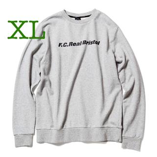 F.C.R.B. - FCRB AUTHENTIC LOGO CREWNECK SWEAT XL