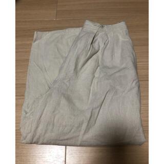 SM2 - 綿麻 裾レースタックパンツ サマンサモスモス