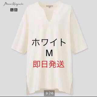 UNIQLO - ユニクロ マメ コラボ5分丈Tシャツ