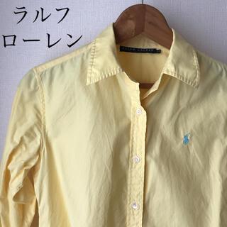 Ralph Lauren - ラルフローレン ロゴ入り シャツ 長袖 レディース 定価1万5千 L ブラウス