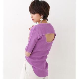 ビューティアンドユースユナイテッドアローズ(BEAUTY&YOUTH UNITED ARROWS)のR JUBILEE アールジュビリー バックレイヤードTシャツ(カットソー(半袖/袖なし))