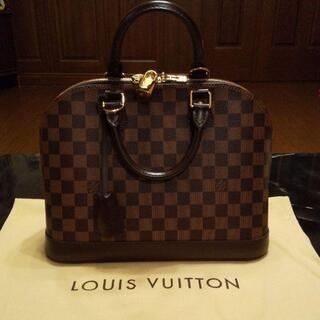 LOUIS VUITTON - 超美品ルイビィトンダミエアルマバック