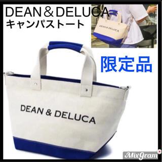 DEAN & DELUCA - エコバッグDEAN&DELUCAディーアンドデルーカトートバッグブルーナチュラル