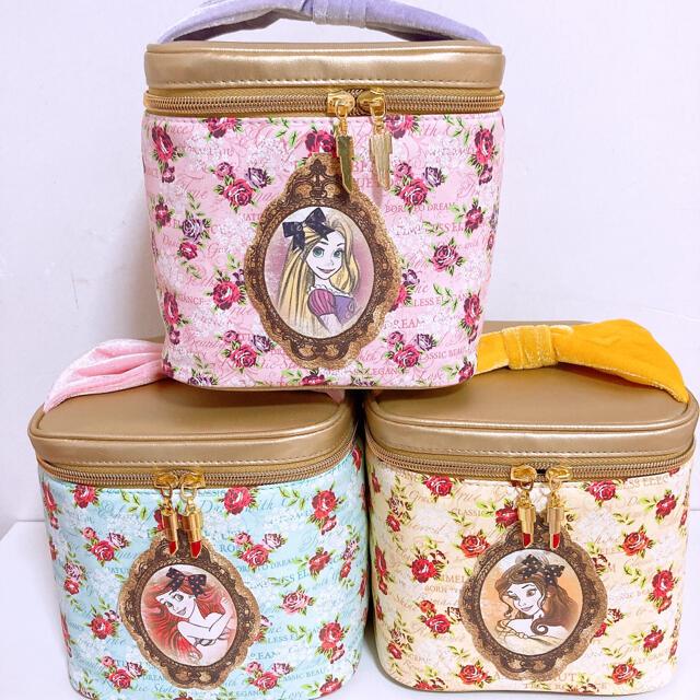 Disney(ディズニー)のアリエル バニティポーチ 小物収納 メイクボックス レディースのファッション小物(ポーチ)の商品写真