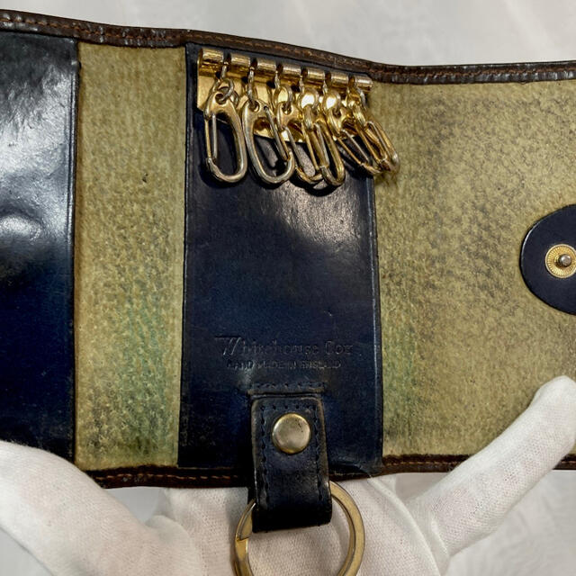 WHITEHOUSE COX(ホワイトハウスコックス)のWhitehouse cox メンズのファッション小物(キーケース)の商品写真