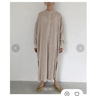 TODAYFUL - todayful ストライプシャツドレス