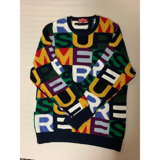 シュプリーム(Supreme)のSupreme big letters sweater Mサイズ(ニット/セーター)