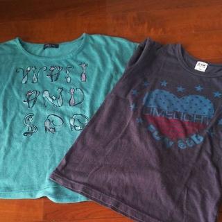エーアーベー(eaB)のコムサ&e.a.B☆130 Tシャツ 2枚セット(Tシャツ/カットソー)