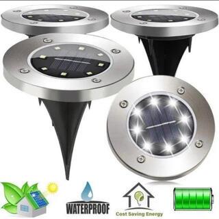 ガーデンライト LED ソーラー 4個セット