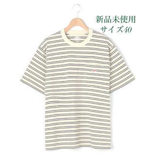 ダントン(DANTON)の【DANTON】ポケットTシャツ ボーダー(Tシャツ/カットソー(半袖/袖なし))