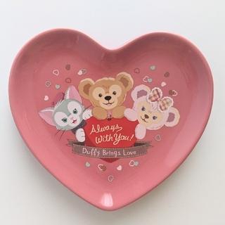 Disney - 24★ダッフィー スーベニアプレート バレンタイン