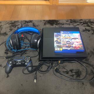 PlayStation4 - PS4 本体  ジェット・ブラック 500GB CUH-1200AB01