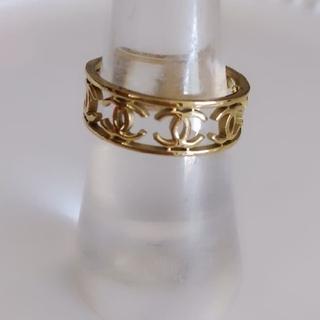 シャネル(CHANEL)のゴールドリング(リング(指輪))