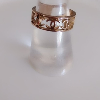 シャネル(CHANEL)のローズゴールドリング(リング(指輪))