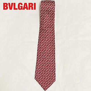 ブルガリ(BVLGARI)の【高級】BVLGARI ブルガリ 総柄ネクタイ セッテピエゲ(ネクタイ)