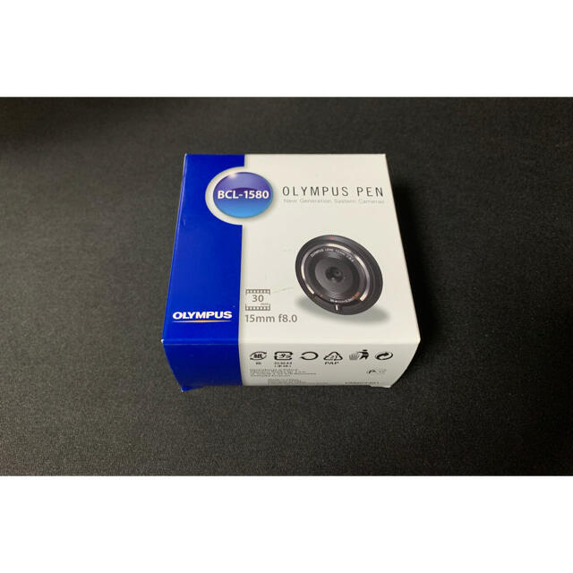 OLYMPUS(オリンパス)の【新品 送料込】ボディーキャップレンズ BCL-1580 15mm f8.0 スマホ/家電/カメラのカメラ(レンズ(単焦点))の商品写真