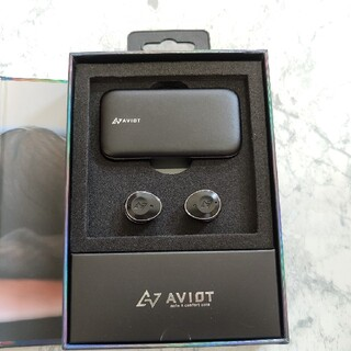 AVIOT TE-BD21j BLACK 黒 完全ワイヤレスイヤホン(ヘッドフォン/イヤフォン)