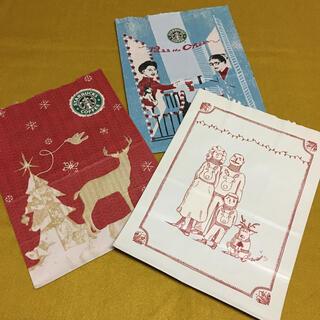 Starbucks Coffee - Starbucks☆スタバ ショップ袋 紙袋 リメイク クリスマス【旧ロゴ】