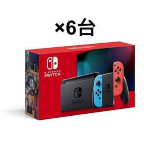 Nintendo Switch - switch ネオン 6台 スイッチ 本体 switch ネオン 本体