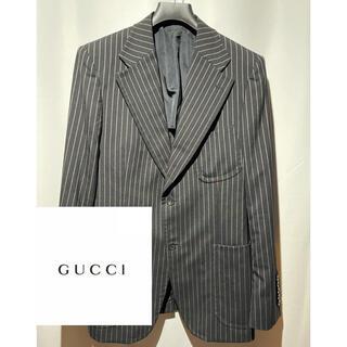 Gucci - GUCCI トムフォード期 ストライプ テーラードジャケット
