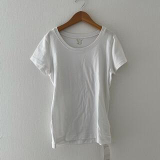 ナチュラルビューティーベーシック(NATURAL BEAUTY BASIC)のナチュラルビューティー ベーシック Tシャツ 白 ホワイト(Tシャツ(半袖/袖なし))