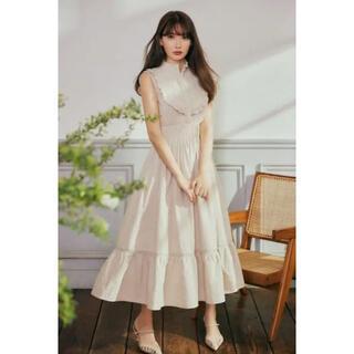 snidel - Herlipto  Paisley Cotton Lace Long Dress