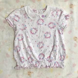 クーラクール 貝殻柄Tシャツ100サイズ