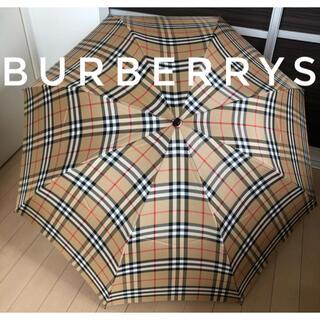 BURBERRY - ✨未使用・美品✨Burberry バーバリー 折りたたみ傘  ノバチェック 傘